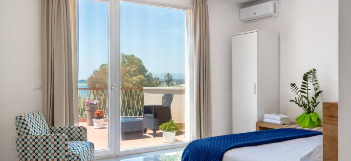 спальня с двухкомнатным видом делюкс