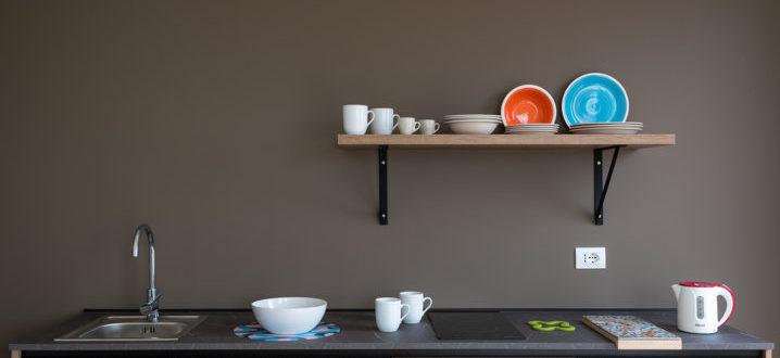 Делюкс двухкомнатная кухня с джакузи