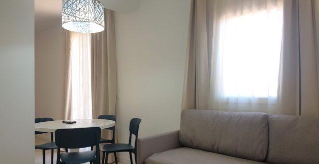 deluxe studio kitchen with terrace