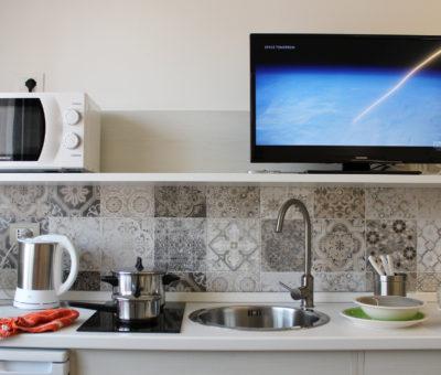 эконом студия кухня